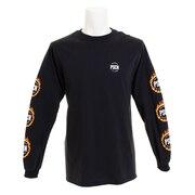 Tシャツ メンズ 長袖 フレームロゴロングスリーブ 18PC-AW-01