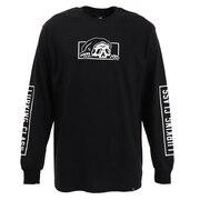 Tシャツ メンズ 長袖 コプロ ST19FT03 BLACK