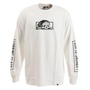 Tシャツ メンズ 長袖 コプロ ST19FT03 WHITE