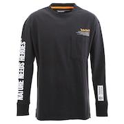 Tシャツ メンズ 長袖 プリント A2B53-001 オンライン価格