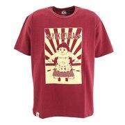 横綱プリント 半袖Tシャツ 07-085BU