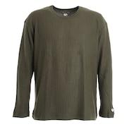 ワッフル 長袖Tシャツ 881EK0HD7027KHK