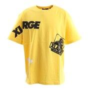 RANDOM PRINT 半袖Tシャツ 101202011007 YEL