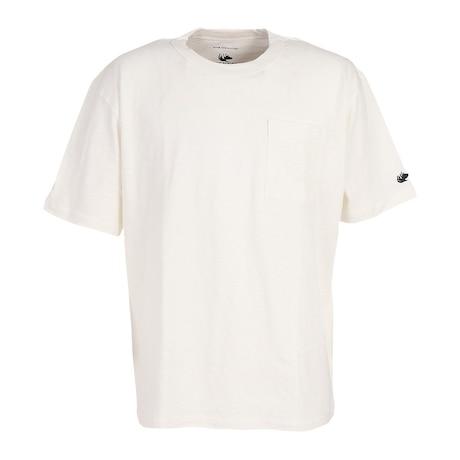 Slub Jersey 半袖Tシャツ 881EK1HD6298WHT