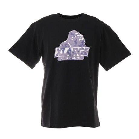ショートスリーブTシャツ TIEDYE OLD OG 101211011003 BLK