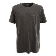 エンボス三角ロゴ 半袖Tシャツ M0BI1JR9YK0JTMU