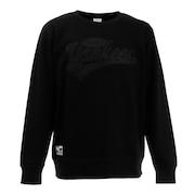 ヤンキース アップリケ長袖Tシャツ Lサイズ MM05-NY-1F02-BK-LG