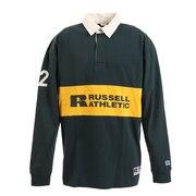 PR RUGGER 長袖ポロシャツ RBM19F0003 DGRN オンライン価格