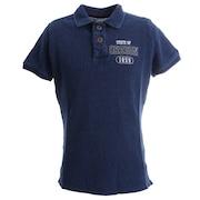 INDIGO DYED ポロシャツ 881EK0FQ3289IBLU オンライン価格
