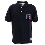 ロゴ ポロシャツ RBM20S0015 NVY オンライン価格