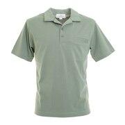 オープンカラー 半袖ポロシャツ 0551005-GRG