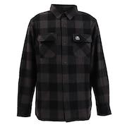 バッファロー チェックシャツ ST19FU01 BLACK