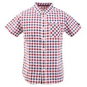 チェック 半袖シャツ 881EK0CG3285PNK オンライン価格
