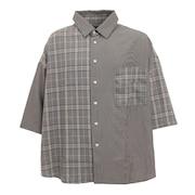 クレイジーチェックシャツ 0551044-NAV