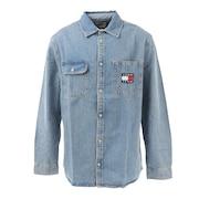 デニムロングスリーブシャツ DM0DM08784 1A5