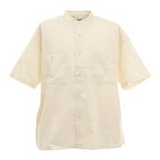 バンドカラーシャツ 0551037-OFF