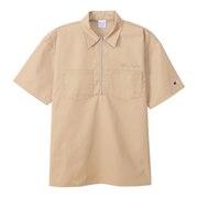 ハーフジップシャツ アクションスタイル C3-T316  780