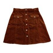 CORDUROY スカート 18HS-WH017-BRW