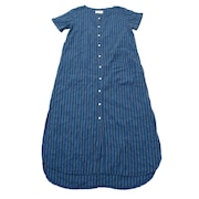 Stripe Shirts ワンピース 18SS-WH009-NVY