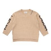 モコモコ 7GG Vネックセーター 204AN2KN012 BEG2