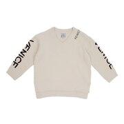 モコモコ 7GG Vネックセーター 204AN2KN012 WHT