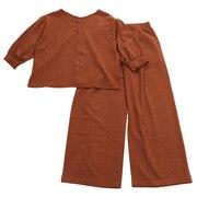 パンツスーツセット 93800606-BRN
