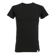 マイクロベーター 半袖クルーネックシャツ 891Q4SK0001 BLK