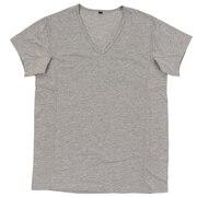 汗染みブロック半袖VネックTシャツ 9057-37 GRY
