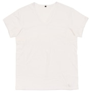 汗染みブロック半袖VネックTシャツ 9057-37 WHT