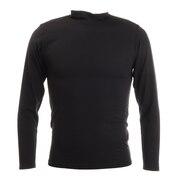 ヒートクロス 薄手長袖ハイネックシャツ 891PA9ES5053BLK