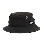 帽子 キッズ ハット Adventure ブラック ホワイトロゴ 11437872 日よけ
