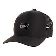 帽子 メンズ レーザーカット メッシュキャップ 897R1ST8639 BLK 日よけ