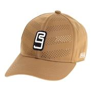 帽子 メンズ キャップ フロントレーザーカットキャップ 897R1ST8643 BEG 日よけ