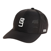 帽子 メンズ キャップ フロントレーザーカットキャップ 897R1ST8643 BLK 日よけ