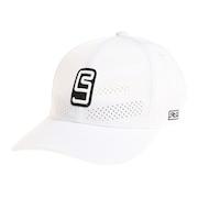 帽子 メンズ キャップ フロントレーザーカットキャップ 897R1ST8643 WHT 日よけ