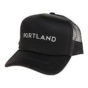 帽子 メンズ メッシュキャップ REFLECTIVE プリントキャップ 897R1ST8645 BLK 日よけ
