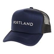 帽子 メンズ メッシュキャップ REFLECTIVE プリントキャップ 897R1ST8645 NVY 日よけ