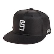 帽子 メンズ キャップ 3D 刺繍 ベースボールキャップ 897R1ST8650 BLK 日よけ