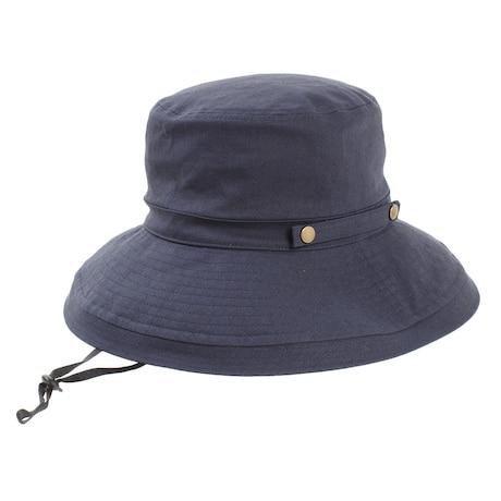 帽子 レディース UV フォールドアップバケット ハット 898PA9ST1642 NVY 日よけ