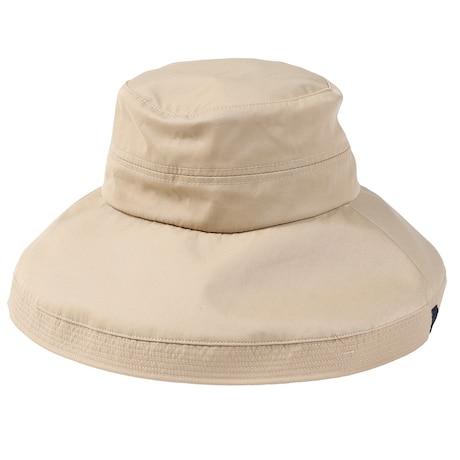 帽子 レディース UV ハット TEILL SCALLOP HAT HU20SST898002 BEG 大きめ 日よけ