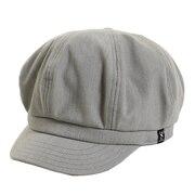 帽子 レディース キャスケット CASKET HU18S898SST014 GRY 日よけ