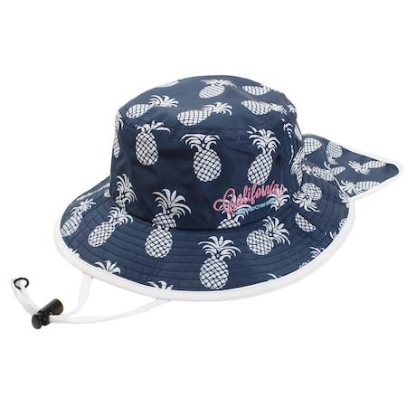 帽子 キッズ ジュニア サンシェードハット AG99AC1191J NVY 日よけ