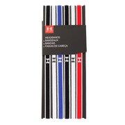 ミニヘッドバンド6本パック 1286016 RED/BLK/WHT ACC