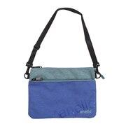アネロ(anello)Wロゴサコッシュバッグ AT-B2761-BL オンライン価格