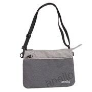 アネロ(anello)Wロゴサコッシュバッグ AT-B2761-GY オンライン価格