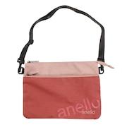 アネロ(anello)Wロゴサコッシュバッグ AT-B2761-PI オンライン価格