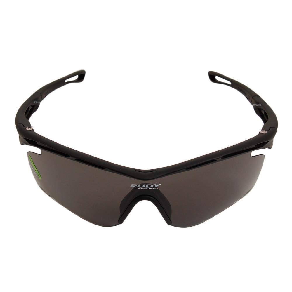ルディ・プロジェクト トラリクス スポーツサングラス ブラック/スモークブラック SP391006-0000 ケース付 FF 90 サングラス・メガネ