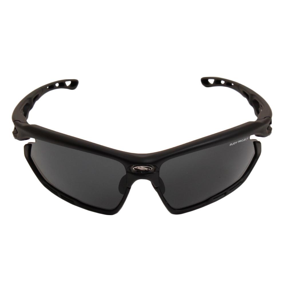 ルディ・プロジェクト フォトニック スポーツサングラス ブラック/スモーク SP451006-0000 ケース付 FF 90 サングラス・メガネ