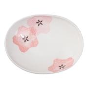 桜咲く 楕円皿 小 0013SKS041