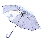 ガーリーギンガム 傘 ブルー 560-015 BL
